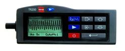 TR-200 - Anzeige des Rauheitsprofils